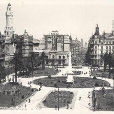 Postales: BUENOS AIRES. PLAZA DE MAYO MUNICIPAL. POSTAL BLANCO Y NEGRO, BRILLO. C. 1950 ?. SIN CIRCULAR.. Lote 46121445