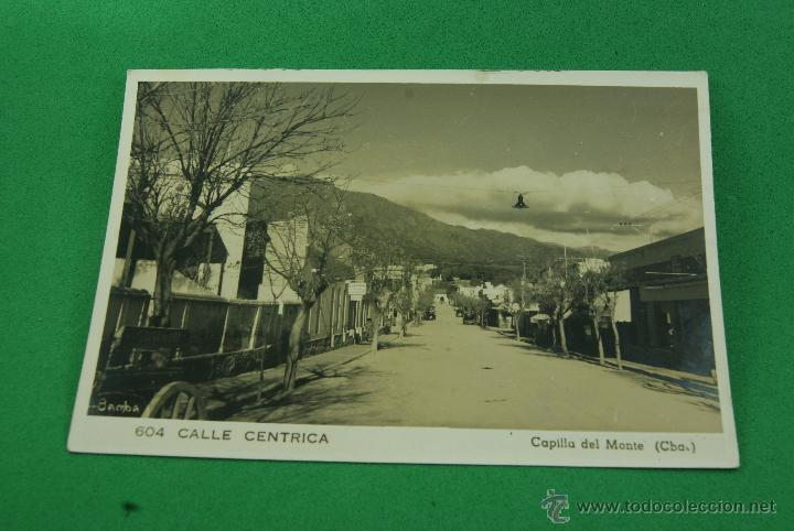 RARA POSTAL FOTOGRAFICA CAPILLA DEL MONTE CUBA (Postales - Postales Extranjero - América)