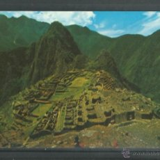 Postales: POSTAL DE PERU - RUINAS DE - MACHU PICHU -SIN CIRCULAR DE 1978. Lote 46477774