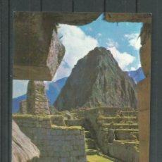 Postales: POSTAL DE PERU - PLAZA SAGRADA DE - MACHU PICHU -SIN CIRCULAR DE 1978. Lote 46477928