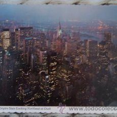 Postales: VIEW FROM EMPIRE STATE LOOKING NORTHEAST AT DUSK. NEW YORK CITY.USA. 1977. POSTAL ESTADOS UNIDOS. Lote 46613696