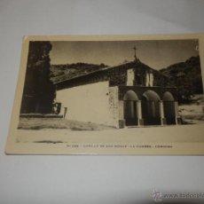 Postales: POSTAL CAPILLA DE SAN ROQUE LA CUMBRE CORDOBA N 559 FOTO C. PAULI. Lote 47173714