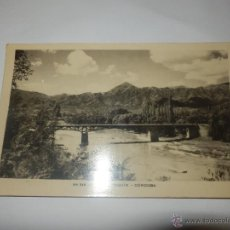 Postales: POSTAL RIO DE COSQUIN CORDOBA ARGENTINA PUENTE SIN CIRCULAR . Lote 47174606