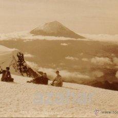 Postales: MEXICO, POSTAL FOTOGRAFICA, DESDE IZTACCIHUATL. Lote 47298313