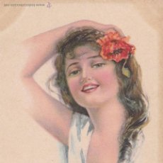 Postales: F-62. LOTE DE DOS POSTALES DE LA SERIE AMERICAN GIRL. PRINTED IN USA. EDWARD GROOS C0. NEW YORK.1930. Lote 47360355