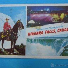 Postales: NIAGARA FALLS, CANADA - ACORDEON - VER FOTOS DEL INTERIOR. Lote 47390465