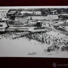 Postales: ANTIGUA FOTO POSTAL DE VALPARAISO. CHILE. PLAYA DE TORPEDERAS. ESCRITA. Lote 47672116