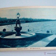 Postales: 1922 EL BALNEARIO - BUENOS AIRES -. Lote 47679042