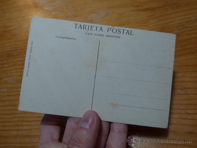 Postales: Antigua postal benedicion pabellones españoles por arzobispo de buenos aires, argentina - Foto 2 - 48680310