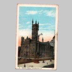 Postales: MASONIC TEMPLE, PHILADELPHIA, PA. - OLD POSTCARD. Lote 48830966