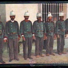 Postales: TARJETA POSTAL DE MEJICO. SOLDADOS MEXICANOS. J.M. 134. Lote 48991366