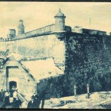 Postales: TARJETA POSTAL CENTENARIA DE CUBA - ENTRADA AL CASTILLO DEL MORRO. Lote 49094124
