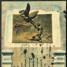 Postales: TARJETA POSTAL CENTENARIA DE CUBA - MEMORIAL EN LA FORTALEZA DE SAN CARLOS DE LA CABAÑA. Lote 49200551