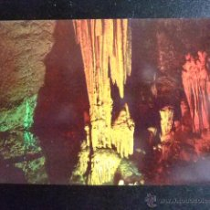 Postales: CUBA MATANZAS LES GROTTES DE BELLAMAR -THE CAVES OF BELLAMAR. Lote 49416272