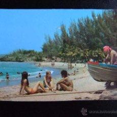 Postales: SANTIAGO DE CUBA PLAYA SIBONEY SIBONEY BEACH. Lote 49416426