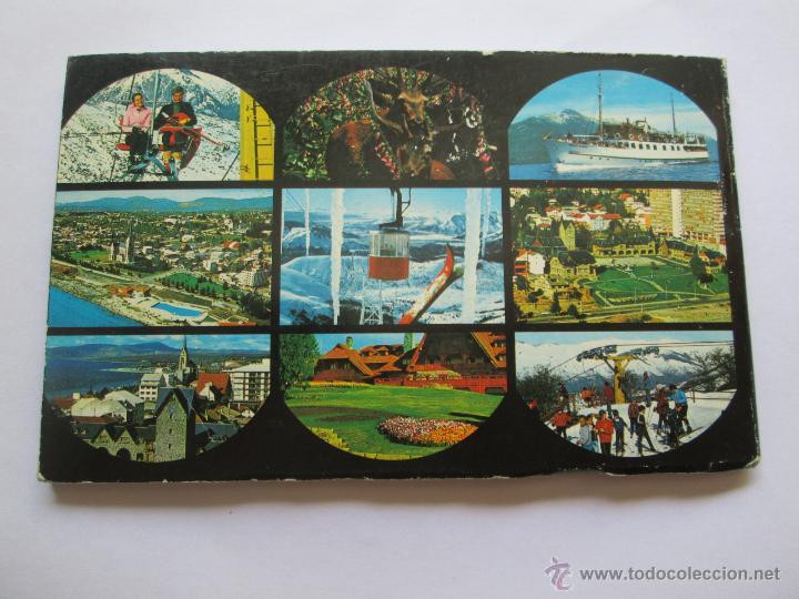 Postales: BARILOCHE 80 VISTAS COLOR, CIRCA 1965 - ALBUM PHOTOS - Foto 2 - 49455196