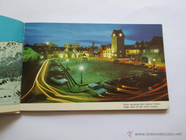 Postales: BARILOCHE 80 VISTAS COLOR, CIRCA 1965 - ALBUM PHOTOS - Foto 3 - 49455196