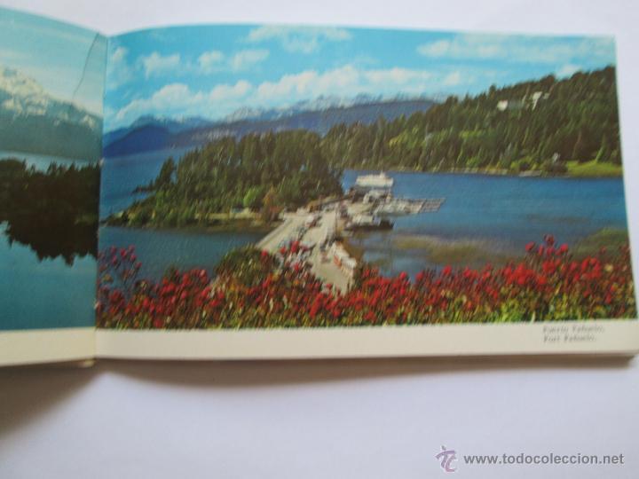 Postales: BARILOCHE 80 VISTAS COLOR, CIRCA 1965 - ALBUM PHOTOS - Foto 4 - 49455196