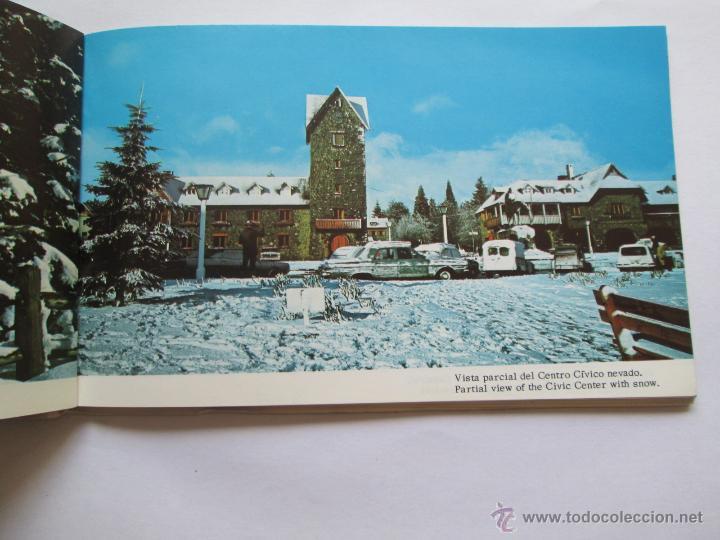 Postales: BARILOCHE 80 VISTAS COLOR, CIRCA 1965 - ALBUM PHOTOS - Foto 5 - 49455196