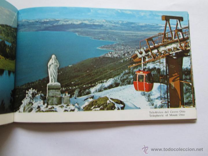 Postales: BARILOCHE 80 VISTAS COLOR, CIRCA 1965 - ALBUM PHOTOS - Foto 6 - 49455196