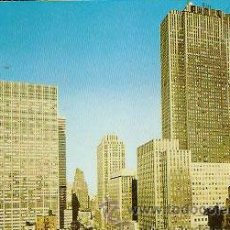 Postales: POSTAL * NEW YORK , ROCKEFELLER CENTER *. Lote 50074371