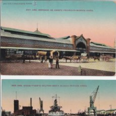 Postales: P- 1835. LOTE 2 POSTALES DE BUENOS AIRES, REPUBLICA ARGENTINA. . Lote 50114889