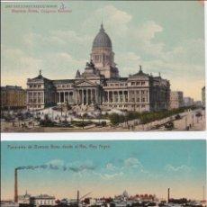 Postales: P- 1836. LOTE 3 POSTALES DE BUENOS AIRES. . Lote 50114935