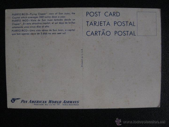 Postales: PUERTO RICO. VISTA DE SAN JUAN - Foto 2 - 50385782
