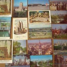 Postales: LOTE DE 25`POSTALES DE USA. LAS DE LA FOTO. SIN CIRCULAR. 2 REPETIDAS.. Lote 50554287