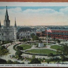 Cartes Postales: NEW ORLEANS : JACSON SQUARE - ST. LOUIS CATHEDRAL. Lote 50996812