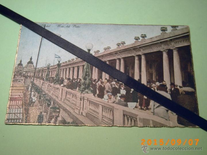 ANTIGUA POSTAL MAR DEL PLATA - RAMBLA BRISTOL - BUENOS AIRES- ARGENTINA- Nº 130 - EDIC. LIBRERIA REY (Postales - Postales Extranjero - América)