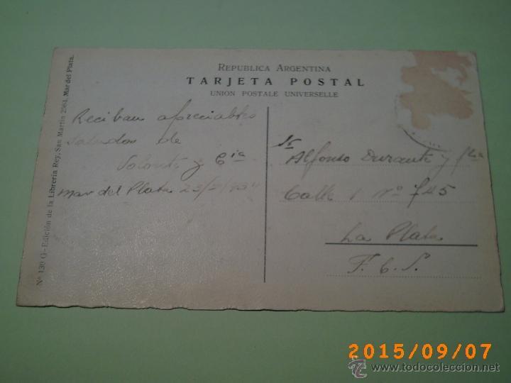 Postales: ANTIGUA POSTAL MAR DEL PLATA - RAMBLA BRISTOL - BUENOS AIRES- ARGENTINA- Nº 130 - EDIC. LIBRERIA REY - Foto 2 - 51171437