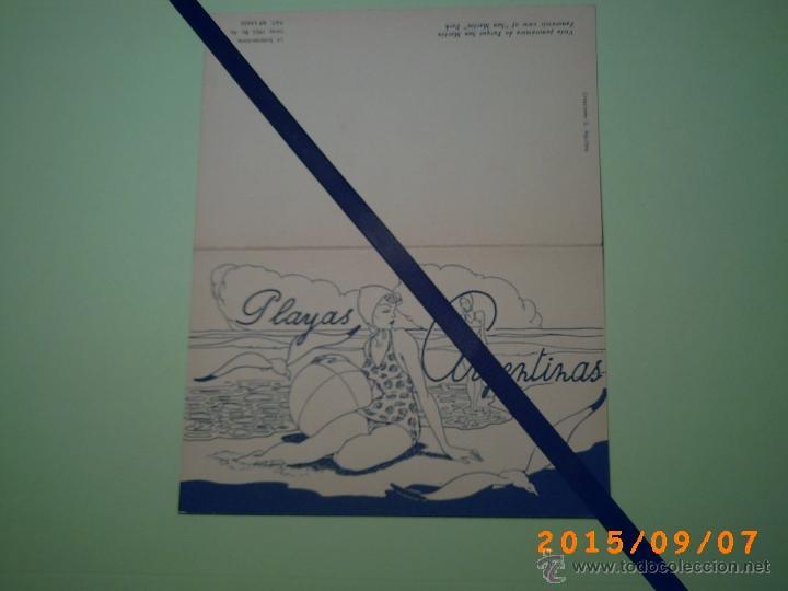 Postales: ANTIGUA POSTAL MAR DEL PLATA -VISTA PANORAMICA DEL PARQUE SAN MARTÍN -BUENOS AIRES-ARGENTINA-POSTAL - Foto 4 - 51172290
