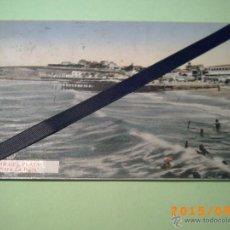 Postales: ANTIGUA POSTAL MAR DEL PLATA -PLAYA LA PERLA-BUENOS AIRES-ARGENTINA-ED. CASA ATANET 1932. Lote 51172527