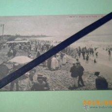Postales: ANTIGUA POSTAL MAR DEL PLATA - 553 A -PLAYA DE LA PERLA-BUENOS AIRES-ARGENTINA-ED. PEUSER . Lote 51172784