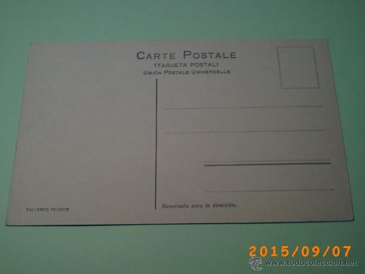 Postales: ANTIGUA POSTAL MAR DEL PLATA - 553 A -PLAYA DE LA PERLA-BUENOS AIRES-ARGENTINA-ED. PEUSER - Foto 2 - 51172784