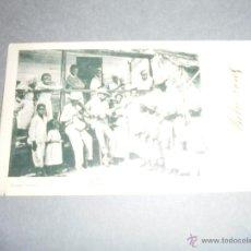 Postales: PUERTO RICO - MUSIC OF THE POOR IMP. BOLETIN MERCANTIL PTO RICO POSTAL CIRCULADA 1902. Lote 51342096