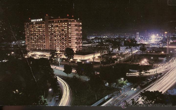 POSTAL, HOTEL CARACAS HILTON, CARACAS -VENEZUELA (Postales - Postales Extranjero - América)