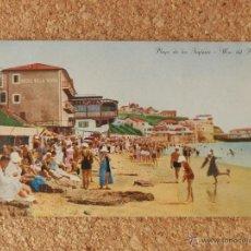 Postales: FOTO POSTAL PLAYA DE LOS INGLESES ARGENTINA . Lote 51815094