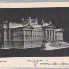 Postales: TARJETA POSTAL DE URUGUAY. PALACIO LEGISLATIVO. MONTEVIDEO.. Lote 52812496