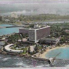 Postales: TARJETA POSTAL DE PUERTO RICO. THE CARIBE HILTON, SAN JUAN.. Lote 52813063