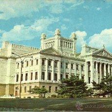 Postales: MONTEVIDEO - Nº 634. PALACIO LEGISLATIVO - EDICIONES IMPRESORA URUGUAYA COLOMBINO, S. A. - 60'S. Lote 52963920