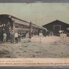 Postales: TARJETA POSTAL DE MEXICO - FERROCARRIL. ESTACION DE SAN JERONIMO.. Lote 52978816