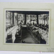 Postales: FOTOGRAFIA DE E. PORTILLA, SAN ANGEL, MEXICO D.F., COMIDA DEL PERSONAL DE UN BANO O DE UNA GRAN EMPR. Lote 53060182