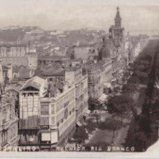 Postales: P- 3854. POSTAL FOTOGRAFICA DE RIO DE JANEIRO. AVENIDA RIO BRANCO. Nº 54.. Lote 53101086