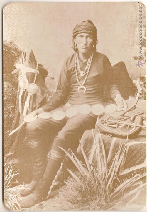 ANTIGUA POSTAL, NAVAJO SILVERSMITH - OLD WEST COLLECTORS SERIES - SIN CIRCULAR (Postales - Postales Extranjero - América)