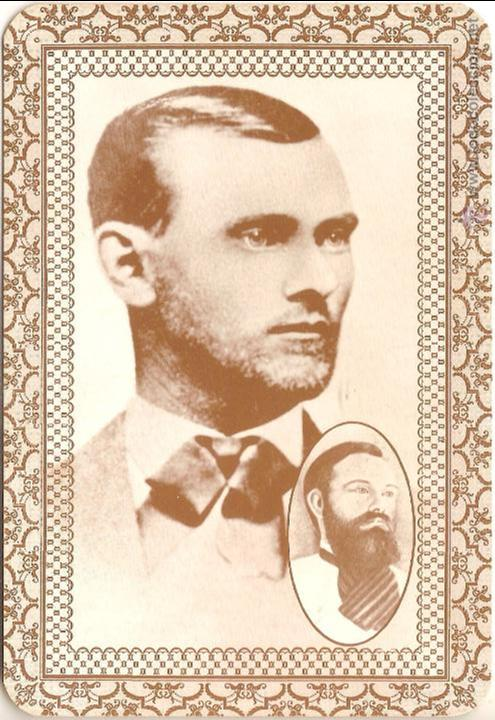 ANTIGUA POSTAL,JESSE JAMES (1847-1882) - OLD WEST COLLECTORS SERIES - SIN CIRCULAR (Postales - Postales Extranjero - América)