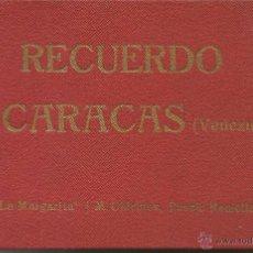 Cartoline: ALBUM RECUERDO DE CARACAS (VENEZUELA) / LA MARGARITA J.M. CHIRINOS. PRINCIPIOS SIGLO XX. Lote 54317928
