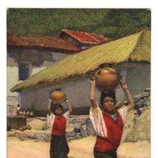 Postales: TARJETA POSTAL INDIAS DEL PUEBLO SAN ANTONIO PALOPÓ - ATITLÁN. FOTO BIENER. Nº 1111. Lote 54561357