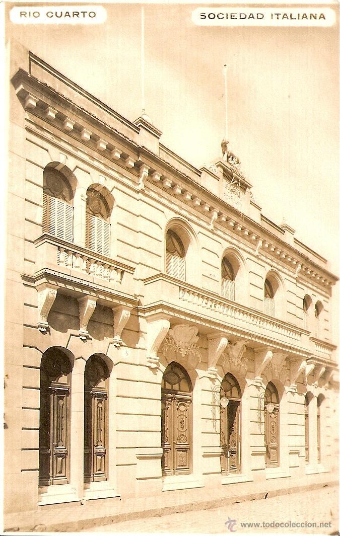 rio cuarto - sociedad italiana *ver foto adicio - Comprar Postales ...